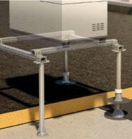 Système de structure support pour équipement technique en toiture-terrasse